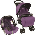 Poussette combiné duo mirage plus ts blackberry spring de Graco