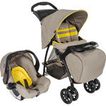 Poussette duo mirage plus ts neon sand de Graco