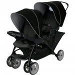 Poussette double stadium duo black grey