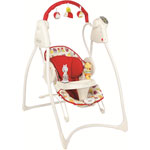 Balancelle bébé swing'n'bounce (2 mix'n mobe inclus) garden friends pas cher