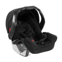 Siège auto coque junior baby midnight black - groupe 0+