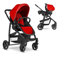 Poussette combiné duo evo + junior baby chili ts