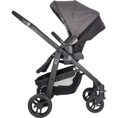 Pack poussette duo evo + snugride watney Graco