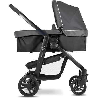 Pack poussette trio evo charcoal Graco
