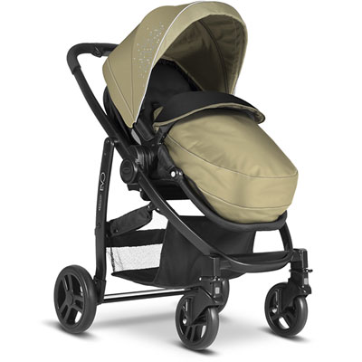 Pack poussette duo evo + junior baby sand ts Graco