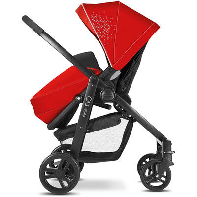 Pack poussette duo evo + junior baby chili ts Graco