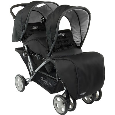 Poussette double stadium duo sport luxe Graco