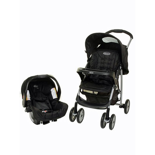 Poussette combiné duo mirage plus ts oxford Graco