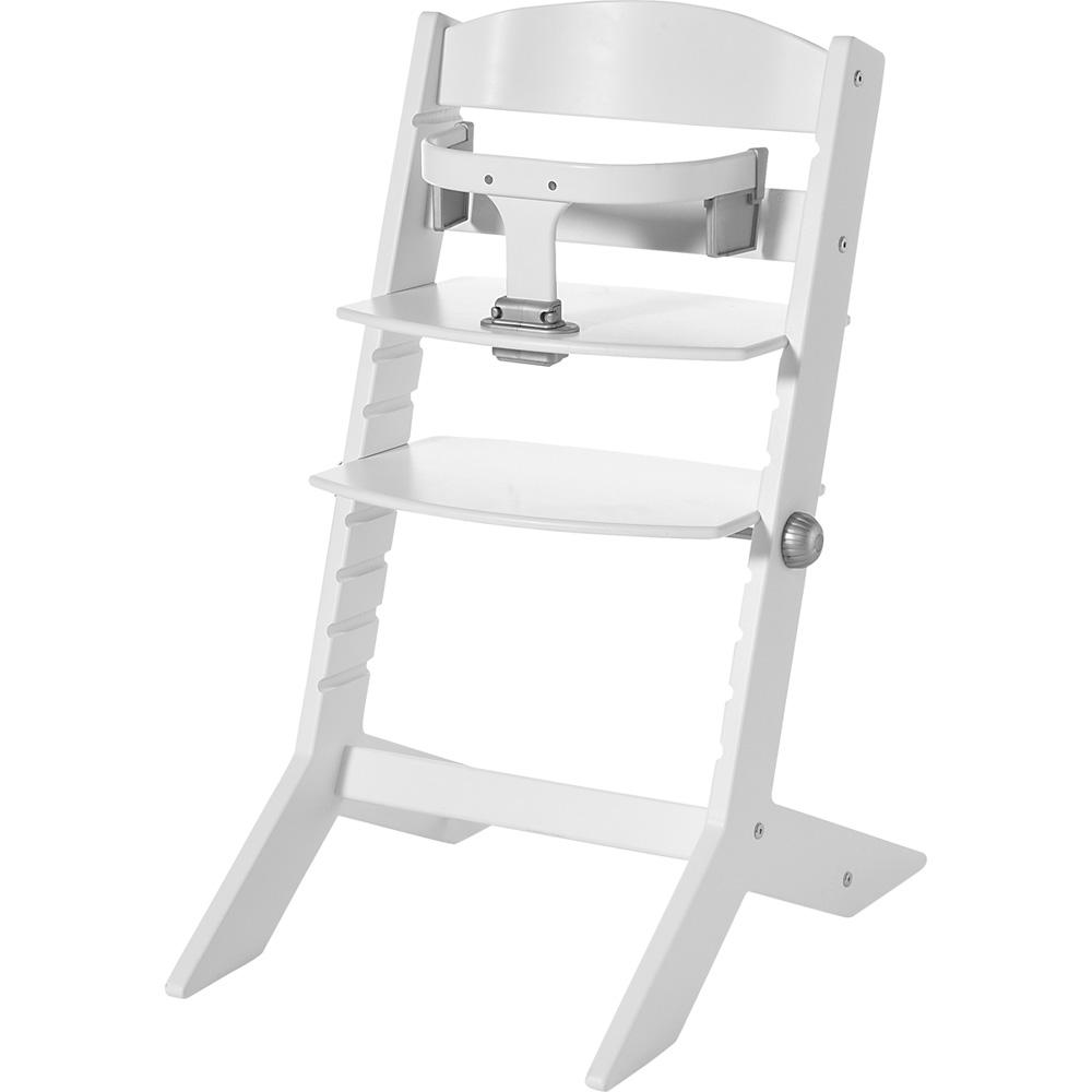 chaise haute b b syt blanche de geuther chez naturab b. Black Bedroom Furniture Sets. Home Design Ideas