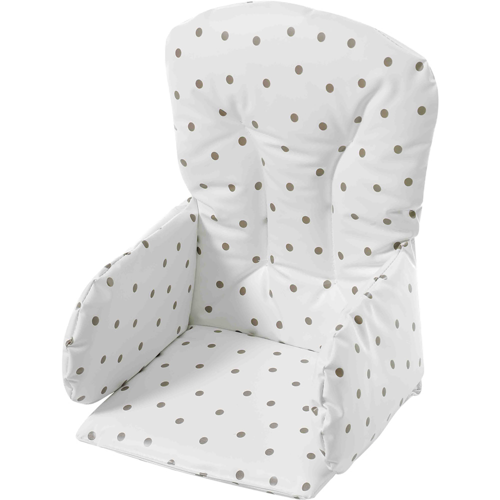 coussin de chaise pvc pois de geuther en vente chez cdm. Black Bedroom Furniture Sets. Home Design Ideas
