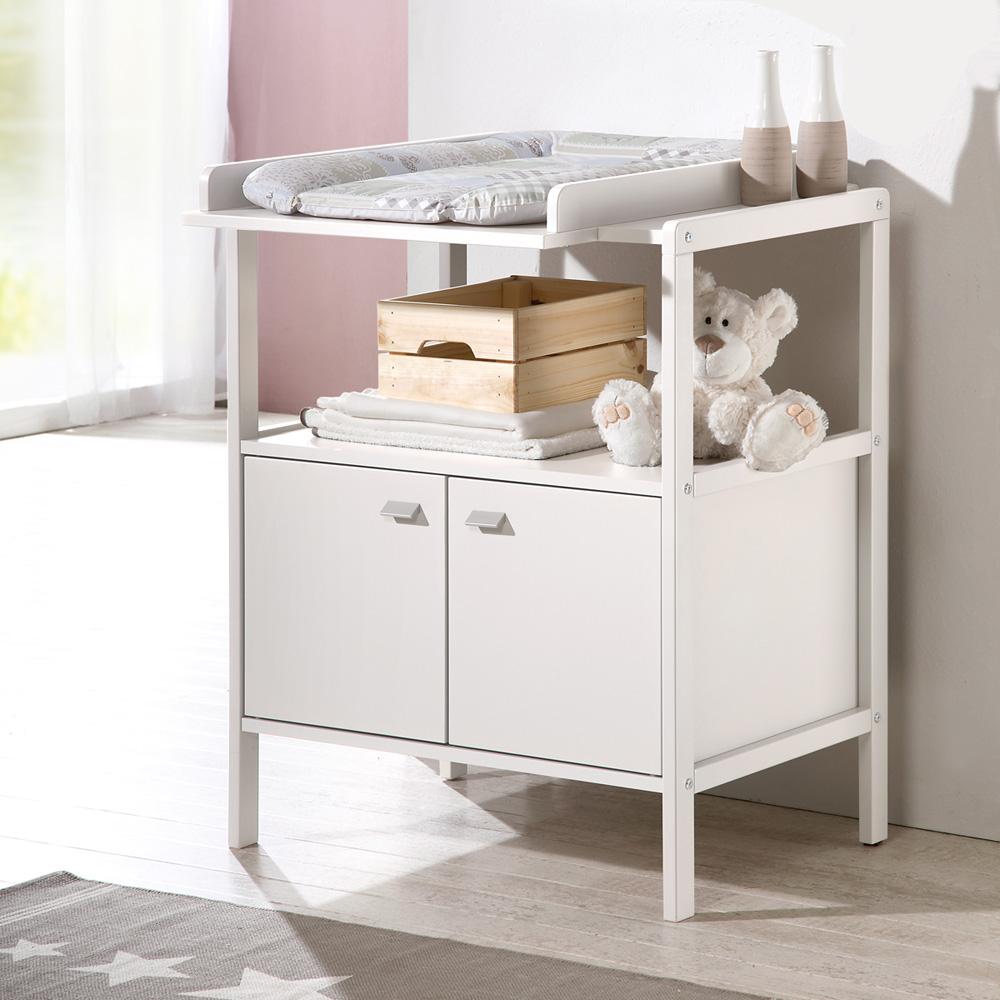 table langer selma blanche de geuther sur allob b. Black Bedroom Furniture Sets. Home Design Ideas