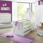 Chambre bébé trio fresh armoires 3 portes pas cher
