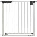 Barrière de porte easylock light métal blanc/argenté 74-83 cm pas cher
