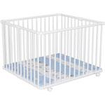 Parc bébé lucilee 94x102 cm zebre pas cher