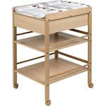 Table à langer avec tiroir avant naturelle lotta pas cher