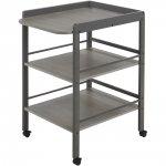 Table à langer grise clarissa (4842sl) pas cher