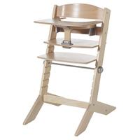 Chaise haute bébé avec plateau syt naturelle