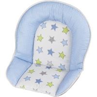 Coussin de chaise tissu etoile
