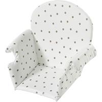 Coussin de chaise pvc avec rabat pois
