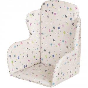 Coussin de chaise pvc fleurs