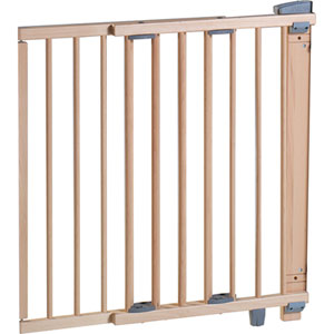 Barriere de sécurité pivotante naturelle 97-139 cm
