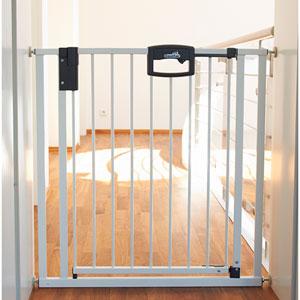 Barrière de sécurité easylock 68-76cm blanc