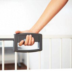Geuther Barrière de sécurité easy lock wood + sans percer 68-76cm
