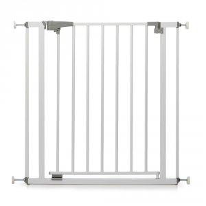 Barriere de sécurité easyclose métal blanc