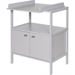 Table à langer selma gris clair