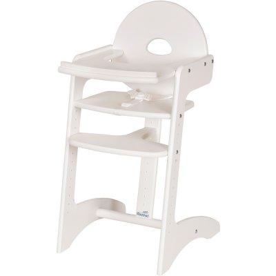 Chaise haute bébé filou blanche Geuther
