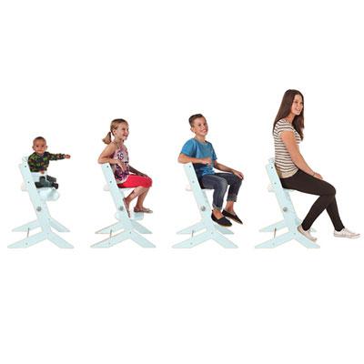 Chaise haute bébé syt menthe Geuther