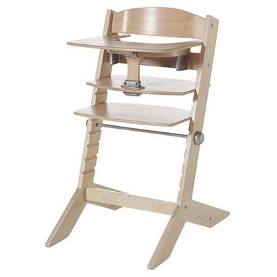 Chaise haute bébé avec plateau syt naturelle Geuther