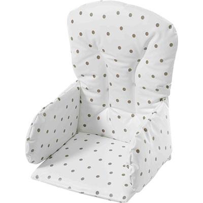 Coussin de chaise pvc pois Geuther