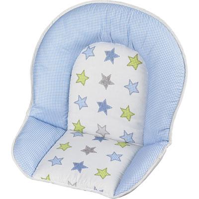 Coussin de chaise tissu etoile Geuther