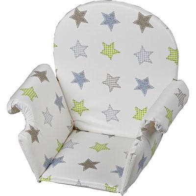 Coussin de chaise pvc avec rabat etoile Geuther