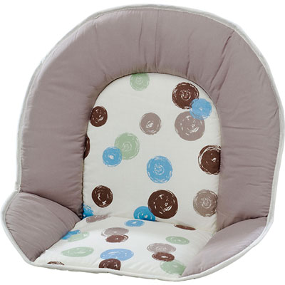 Coussin de chaise tissu pois Geuther