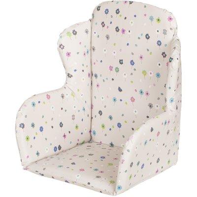 Coussin de chaise pvc fleurs Geuther