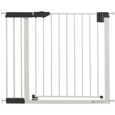 Extension 18 cm pour barrière easylock light métal blanc / argenté Geuther