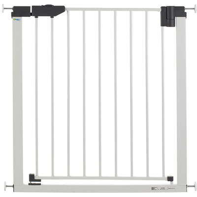 Barrière de sécurité easylock light 74-83cm blanc Geuther