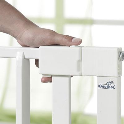 Barrière de sécurité vario safe 74,5 - 82,5cm blanc Geuther