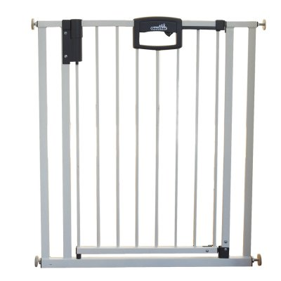 Barrière de sécurité easy lock + metal blanc sans percer 68-76cm Geuther