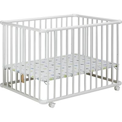 Parc bébé belami 73x102cm blanc étoile Geuther