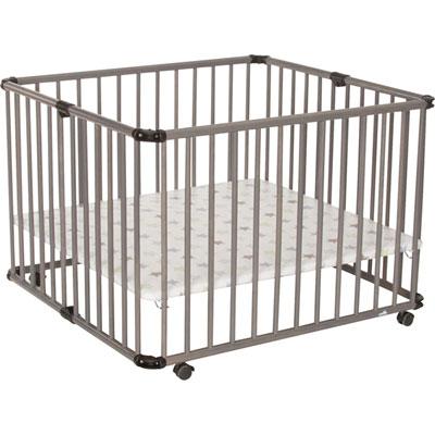 Parc bébé lucilee pliant 80x102cm gris étoile Geuther