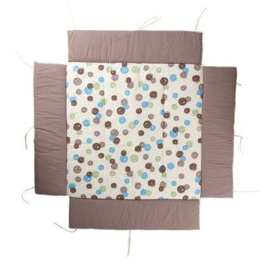 tapis de parc pour belami et lucilee grand mod le pois. Black Bedroom Furniture Sets. Home Design Ideas