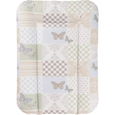 Matelas langer 52 x 75 cm patchwork papillon de geuther for Table a langer 52 cm