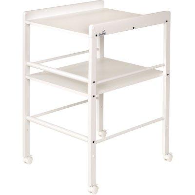 Table à langer avec 1 étagère blanc Geuther