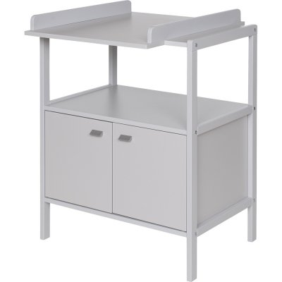 Table à langer selma gris clair Geuther