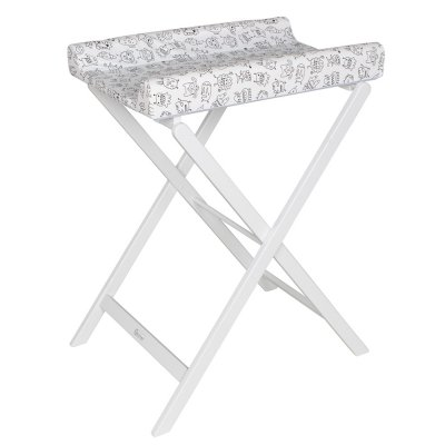 Table à langer pliable trixi blanc monster Geuther