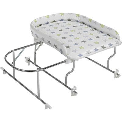 combin baignoire table langer chrome varix etoile 15. Black Bedroom Furniture Sets. Home Design Ideas