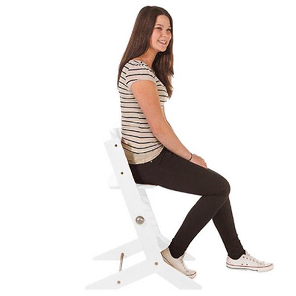 Chaise haute bébé syt blanche Geuther